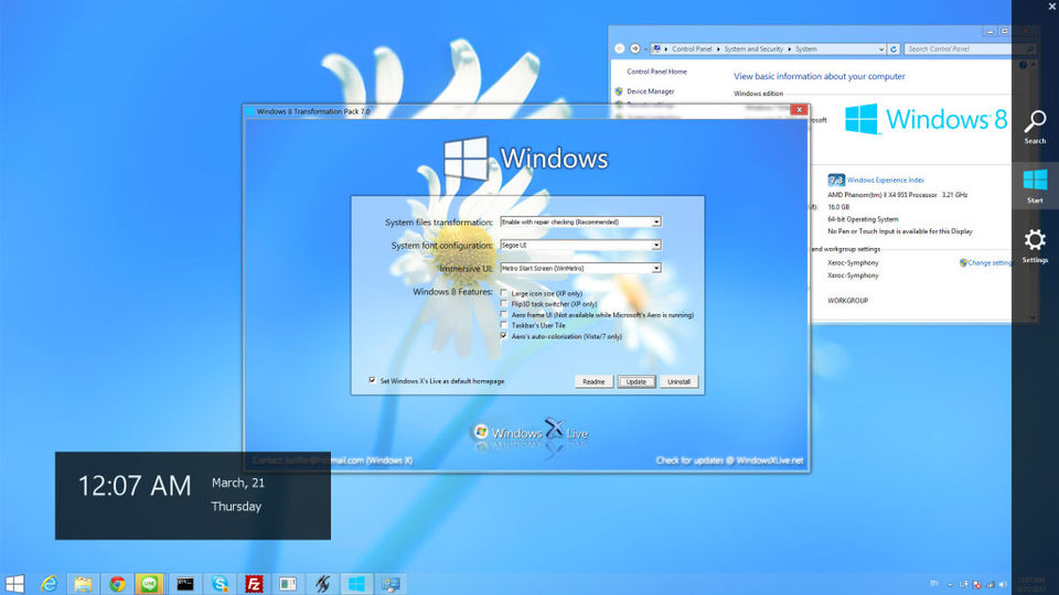 windows 7 to windows 10 transformation pack free download