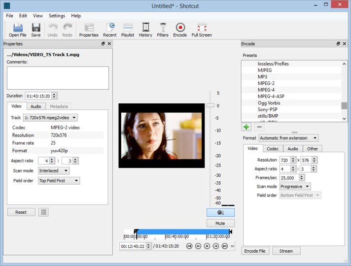Download Shotcut (32-bit) v19 09 Beta (open source
