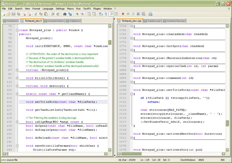 Download Notepad++ v5 9 6 2 (open source) - AfterDawn