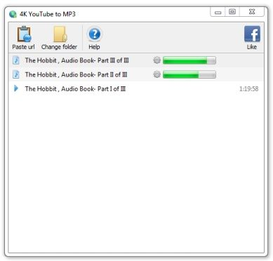 Download 4k YouTube to MP3 v3 8 0 3032 (freeware