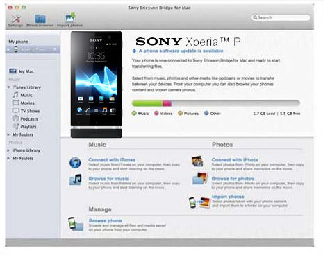 sony bridge for mac 10.6.8
