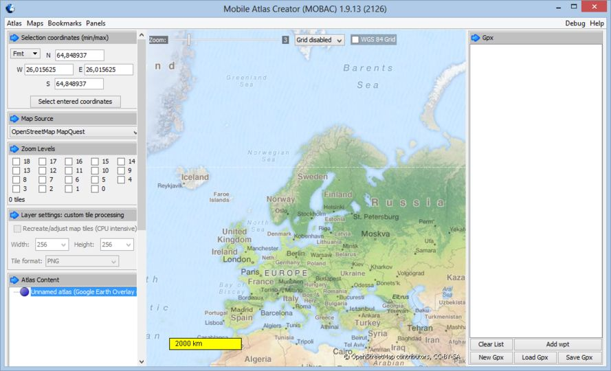 Download Mobile Atlas Creator v2 1 2 (open source