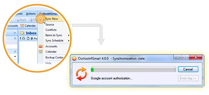 outlook4gmail updates