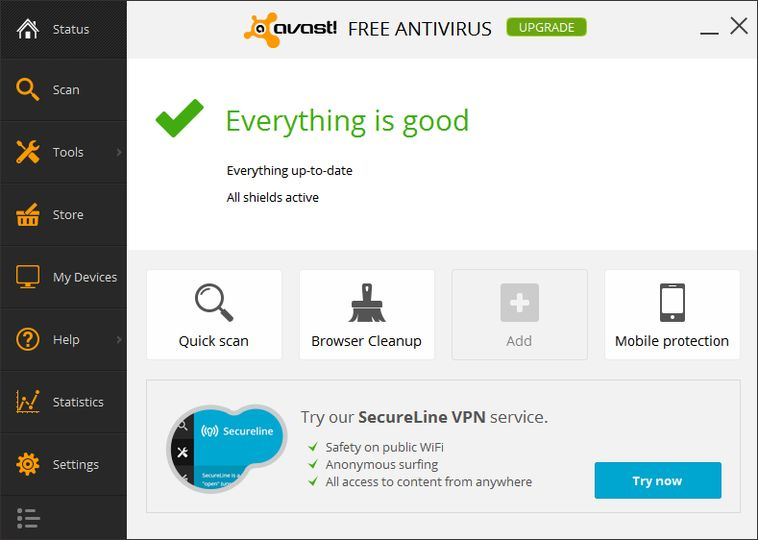 avast free antivirus full package