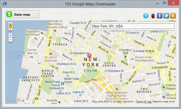 Download FSS Google Maps Downloader v2 0 9 2 (freeware