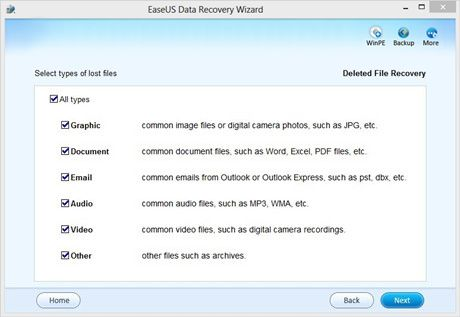 download easeus data recovery wizard free v8 0 freeware