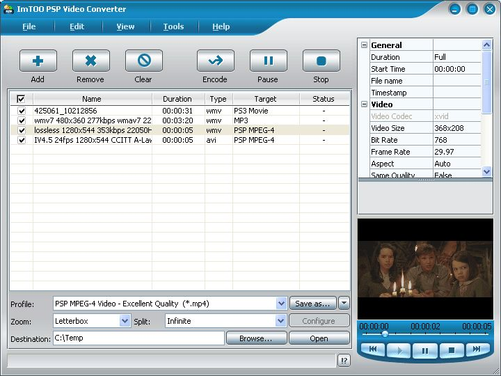 imtoo 3gp video converter 01net