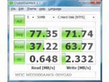 CrystalDiskMark (win 9x) v2.1.4