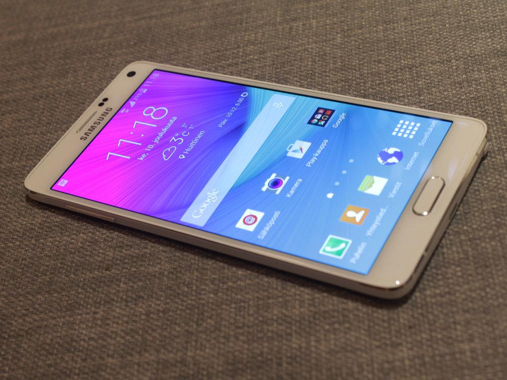 Arvostelu: Samsung Galaxy Note 4