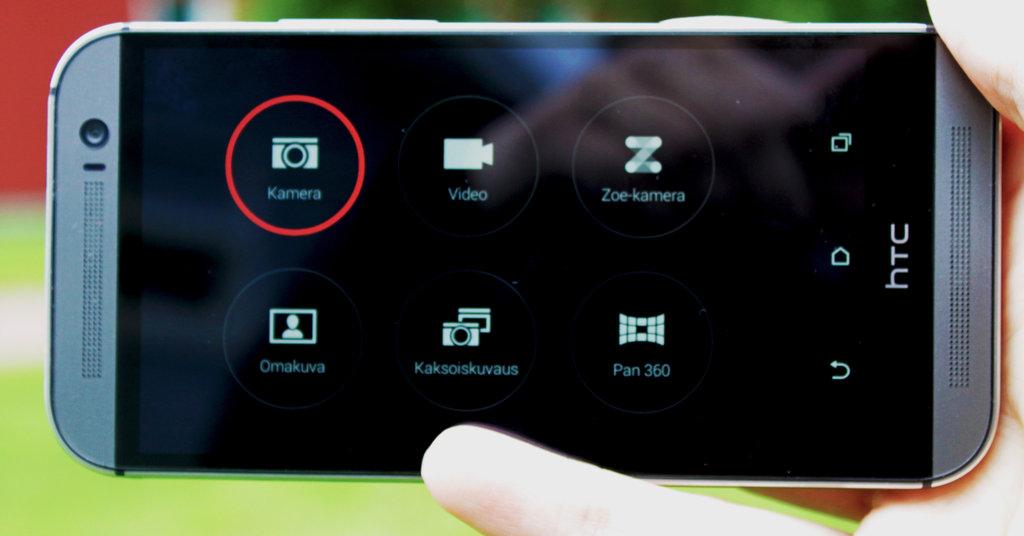 HTC One (M8) - kamera
