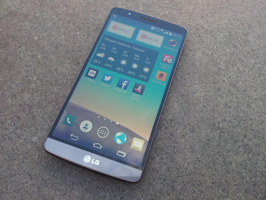 Arvostelu: LG G3