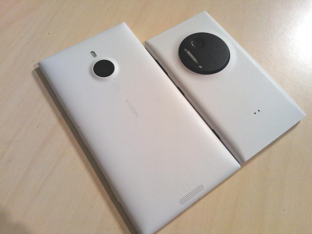 Nokia Lumia 1520 ja Nokia Lumia 1020