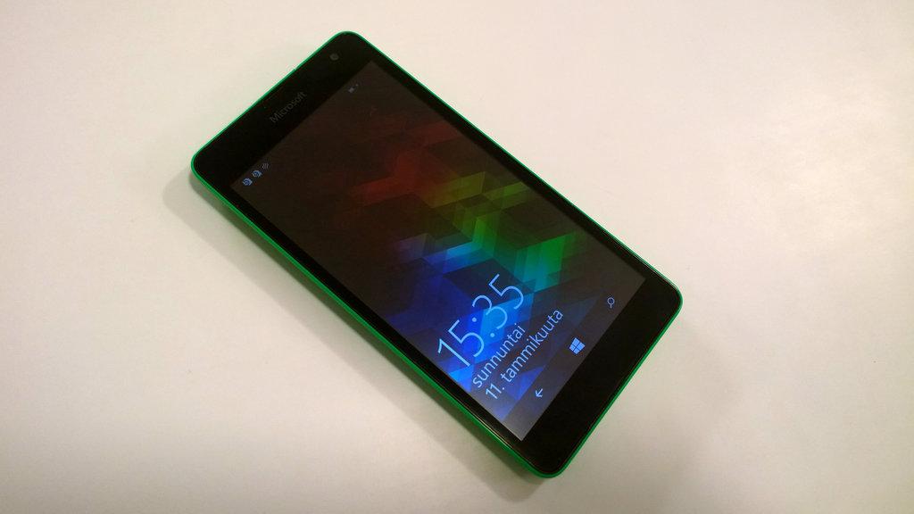 Arvostelu: Microsoft Lumia 535
