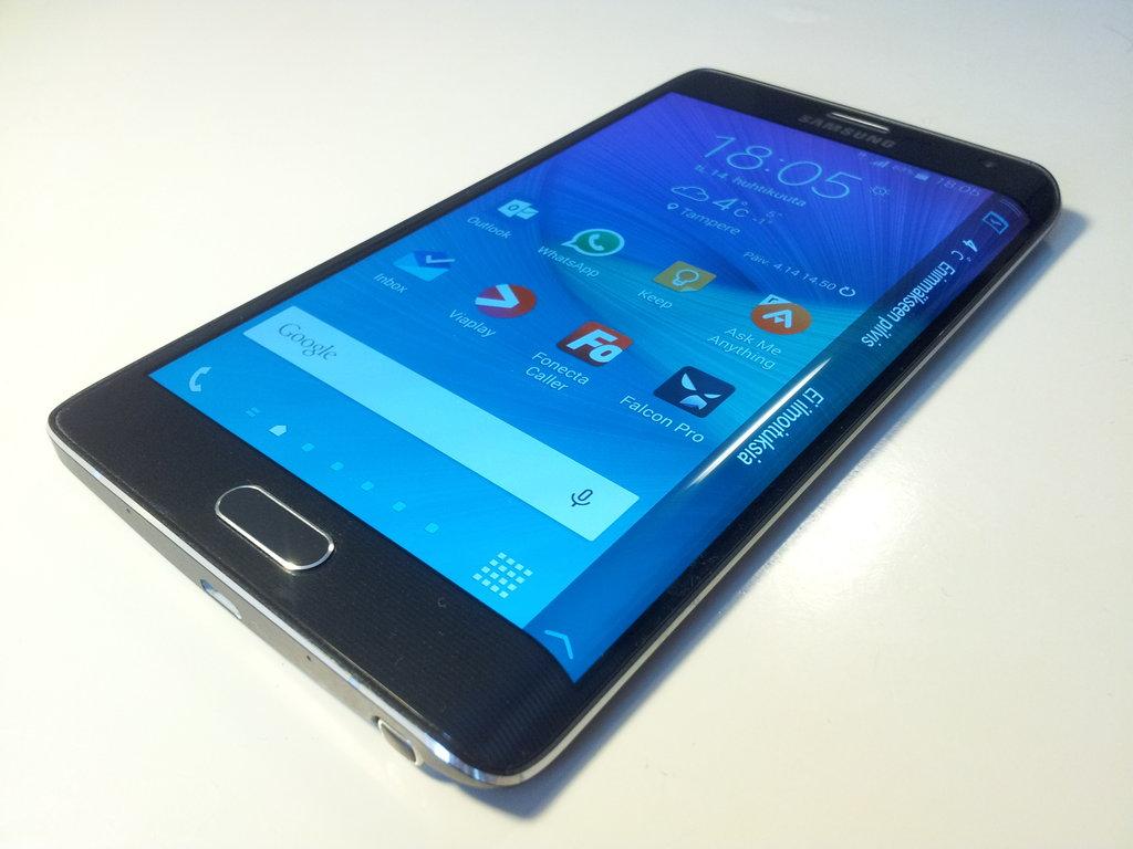 Arvostelu: Samsung Galaxy Note Edge
