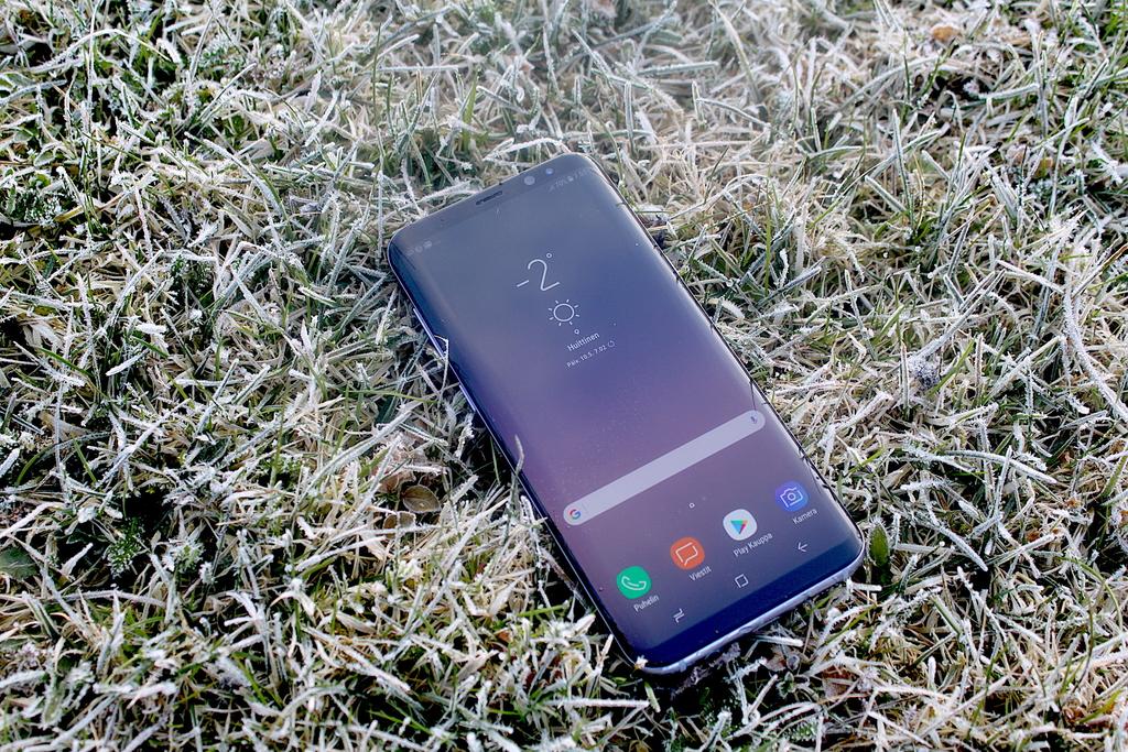 Arvostelussa Samsung Galaxy S8+ – Markkinoiden kaunein puhelin