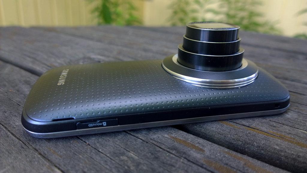 Samsung Galaxy K Zoom - optiikka ulkona/zoomattuna