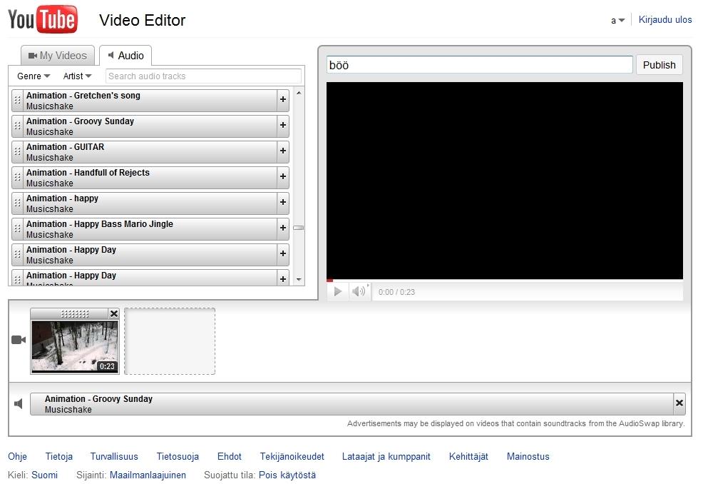 Videoiden Editointi Ohjelma