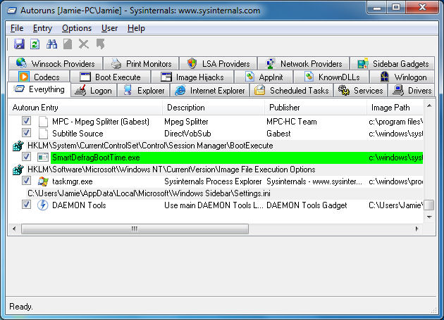 Analyze all Autorun / Auto-start programs in Windows - AfterDawn: Guides