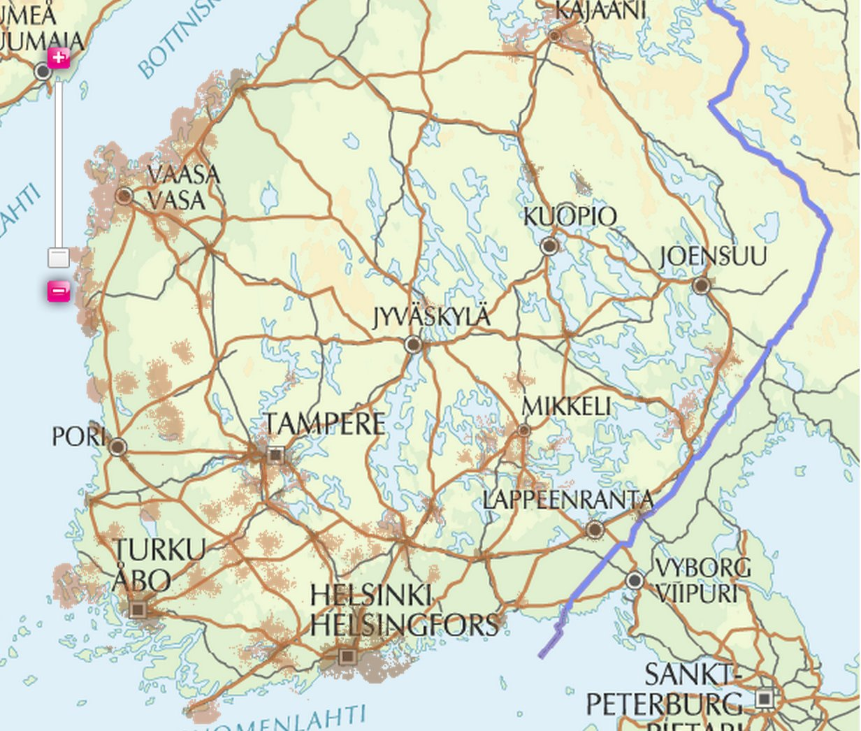 Suomi Kartta