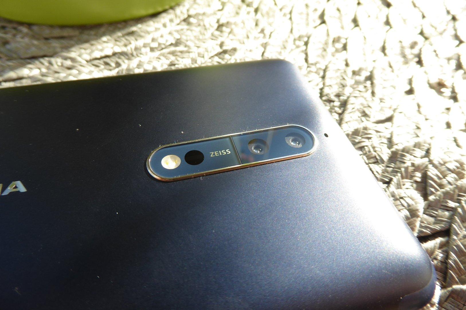 Nokia 8 - Kamera