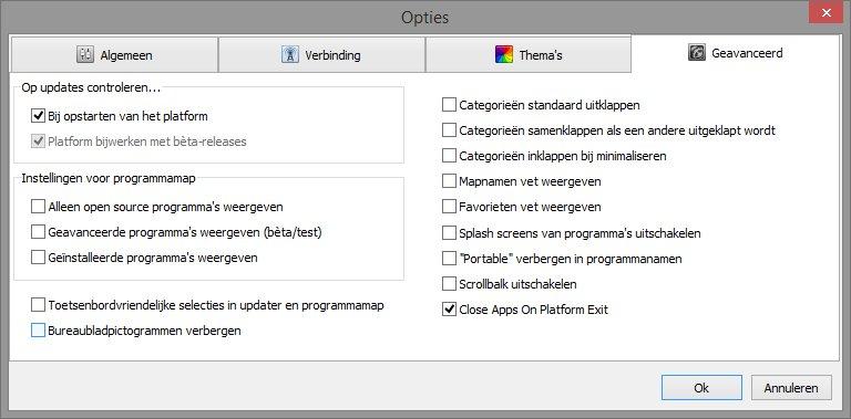 Vervuiling van Windows tegengaan met PortableApps com apps