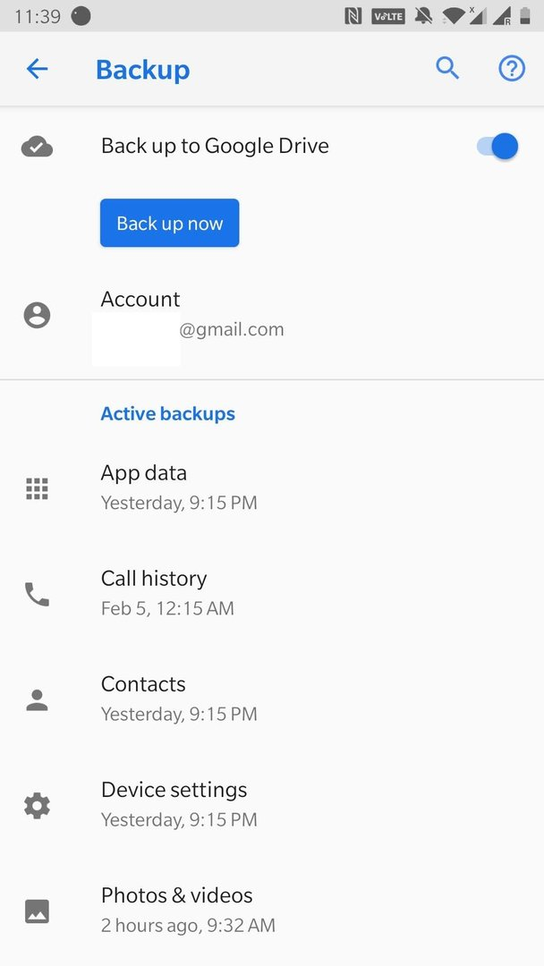 make new google account android phone