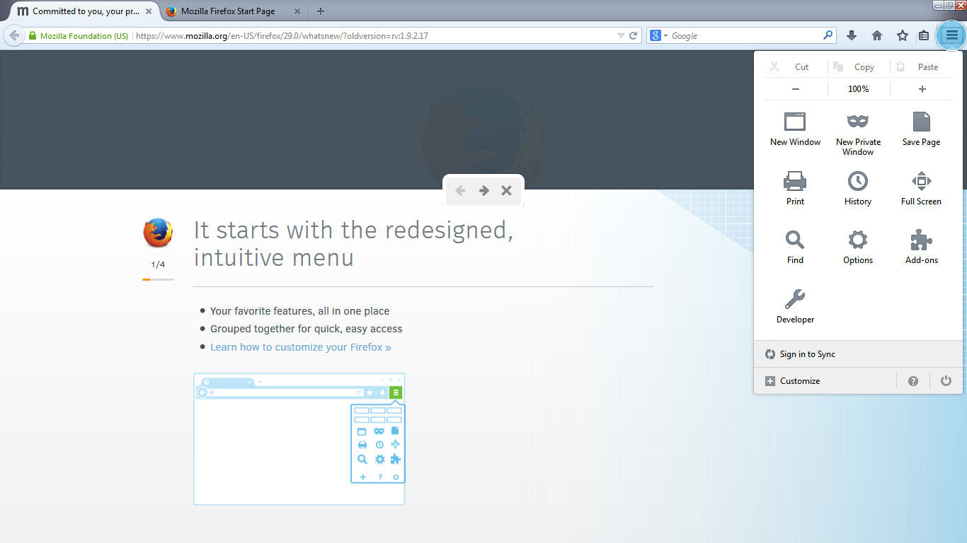Firefox 29 has a new look, improved Sync feature - AfterDawn