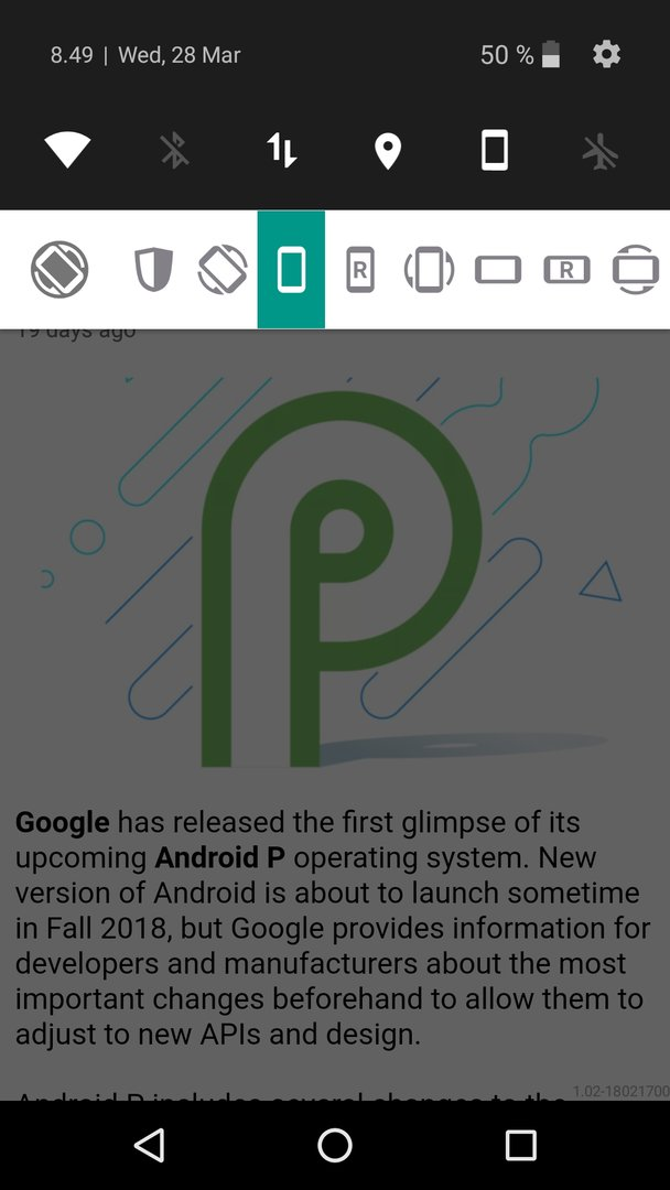 Guide: Force apps to landscape mode in Android - AfterDawn