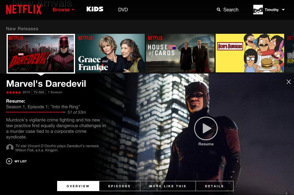 Netflix Päivitys