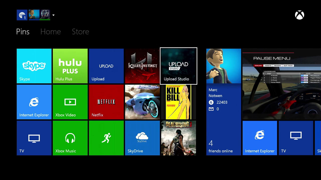 Xbox One 12-minute demonstration shows UI, Biometric sign-in