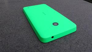 Testissä Lumia 630- ulkoasu