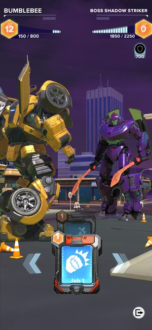 TRANSFORMERS: Heavy Metal pelin taistelunäkymä