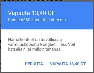 Google Kuvat: Poistetaanko varmuuskopioidut kuvat