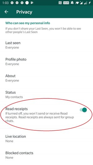 Here's how to read WhatsApp messages without the sender