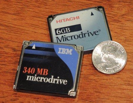 IBM MicroDrive 340MB