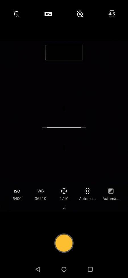OnePlus 7 Pro kamerasovelluksen ammattilaistila