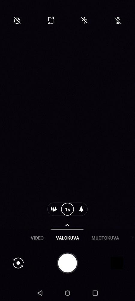OnePlus 7T kamerasovelluksen perustila