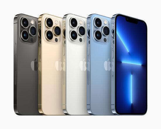 iPhone 13 Pro värivaihtoehdot
