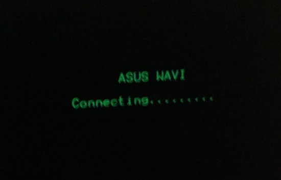 Asus WAVI connecting..