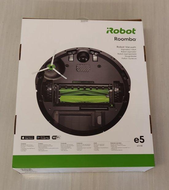 Roomba e5 myyntipakkaus