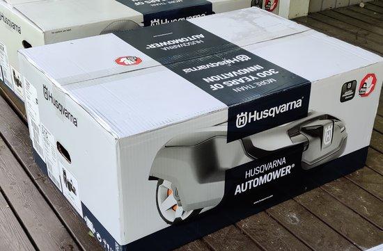 Husqvarna Automower 315 myyntipakkaus