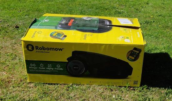 Robomow RS615u - Pakkaus