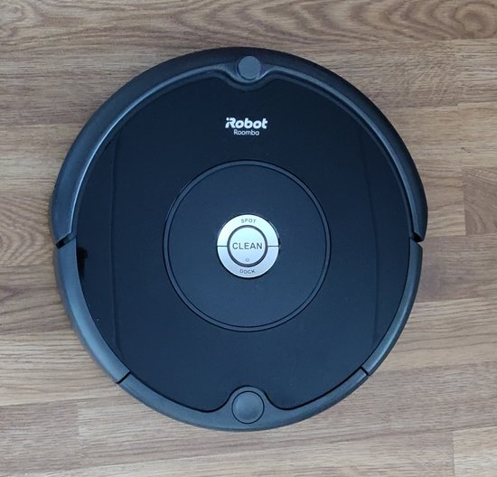 Roomba 606 from above