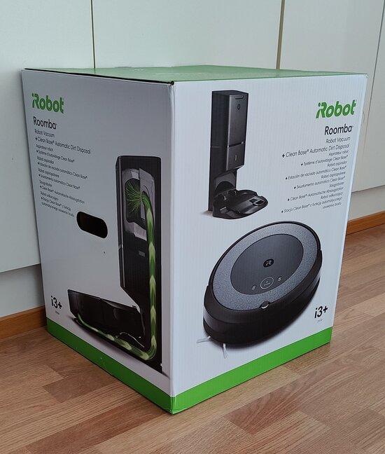 Roomba i3+ myyntipakkaus