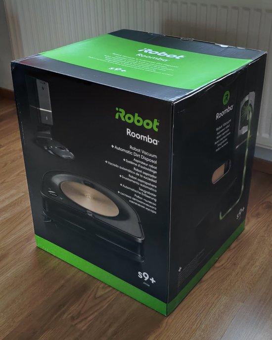 Roomba s9+ myyntipakkaus