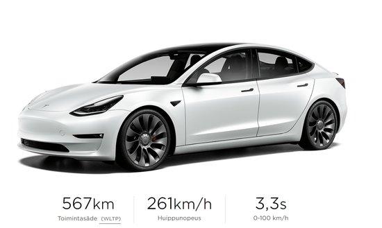 Tesla Model 3 Performance