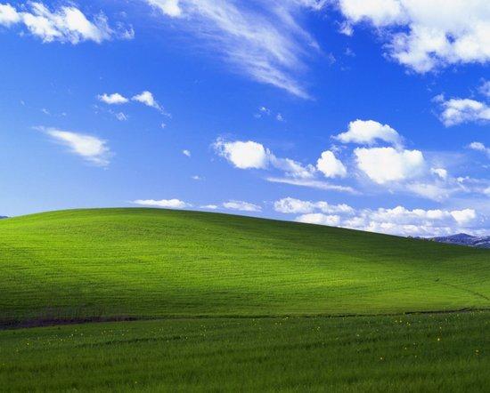 Windows XP alkuperäinen taustakuva