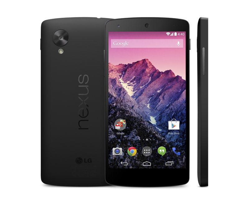 Nexus 5 black trio