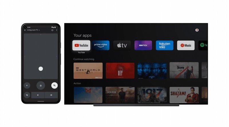 Android TV:n hallinta Android-puhelimella