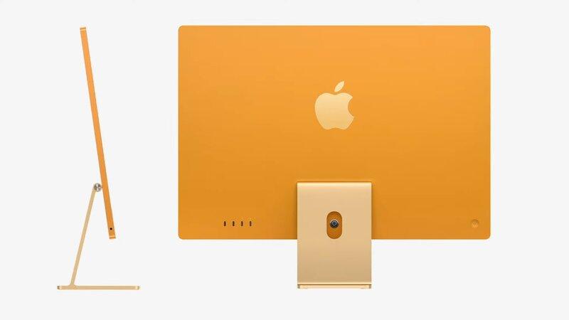 iMac sivulta katsottu on ohut